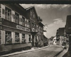 Loffenau Herrenalb Schwarzwald Gasthaus Pension Metzgerei zur Sonne *