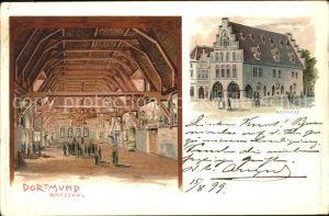 Dortmund Rathaus mit Ratsaal Kat. Dortmund