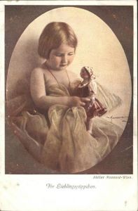 Puppen Kruse Kaethe Kind Kuenstlerkarte Nr. 304 Manasse Wien  Kat. Spielzeug