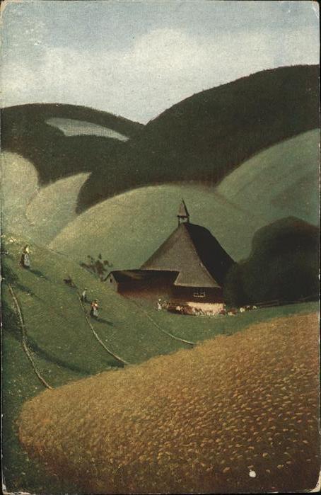 Harbers E. Nr. 35 Schwarzwald  Kat. Schwarzwaldkuenstler