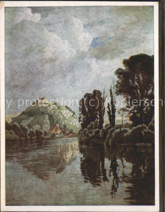 Kuenstlerkarte Fritz Bayerlein Aus Kallmuenz / Kuenstlerkarte /