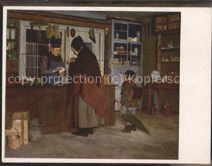 Kuenstlerkarte Peter Phillippi Beim Kraemer / Kuenstlerkarte /