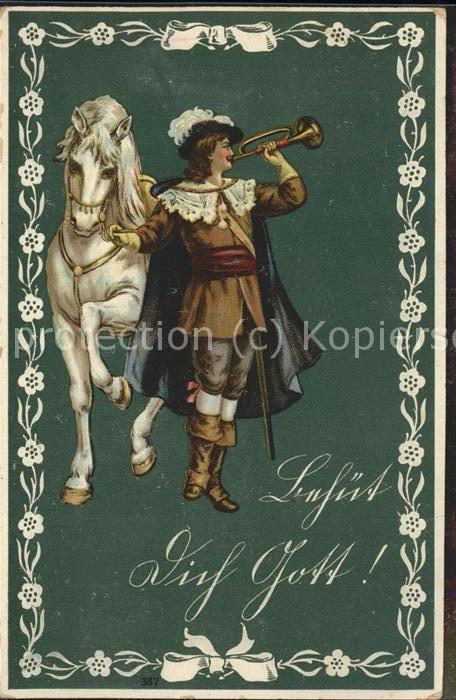 Trompeter Pferd / Musik /