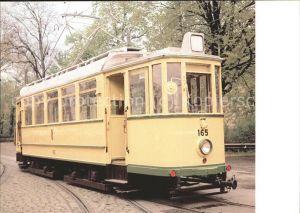Strassenbahn TW 165 Stadtwerke Augsburg MAN Werk Nuernberg Kat. Strassenbahn