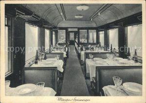 Eisenbahn Mitropa Speisewagen Kat. Eisenbahn