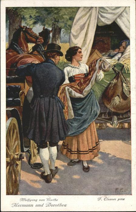 Goethe Hermann & Dorothea Kuenstler Elssner