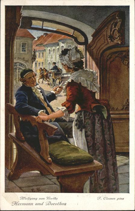 Goethe Hermann & Dorothea Kuenstler F. Elssner