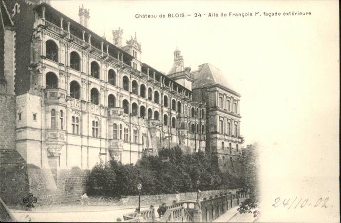wb05164 Blois Loir et Cher Blois Chateau de Blois * Kategorie. Blois Alte Ansichtskarten