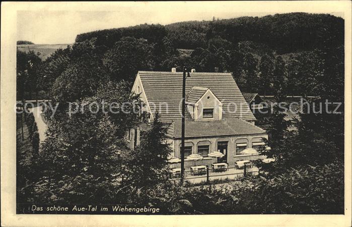 Roedinghausen Gasthaus Bahnhof Neue Muehle im Aue Tal Kat. Roedinghausen 0
