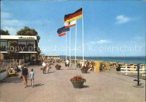 Niendorf Ostseebad Strandpromenade Kat. Timmendorfer Strand