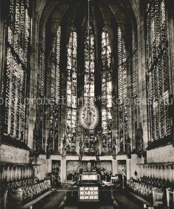 Aachen Chorhalle des Aachener Doms Kat. Aachen