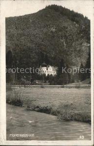 Hohenberg Niederoesterreich Schloss Kat. Hohenberg