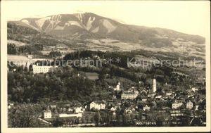 Wolfsberg Kaernten Panorama Kat. Wolfsberg