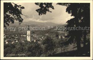 Wolfsberg Kaernten Ortsblick mit Kirche Kat. Wolfsberg