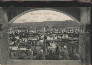 Klagenfurt Woerthersee vom Kreuzberg / Klagenfurt /Klagenfurt-Villach