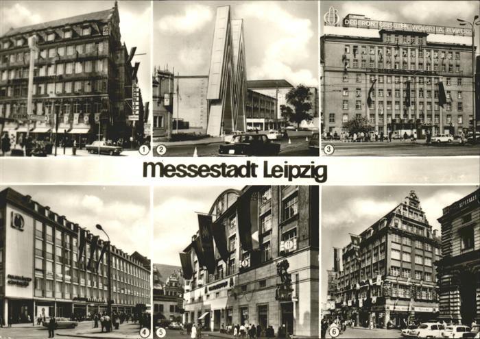 Leipzig Zentralmessepalast Technische Messe Ringmessehaus Messehaus am Markt Handelshof Stentzlers Hof Kat. Leipzig