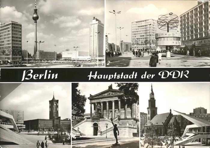 Berlin Berliner Rathaus u.National Galerie Kat. Berlin