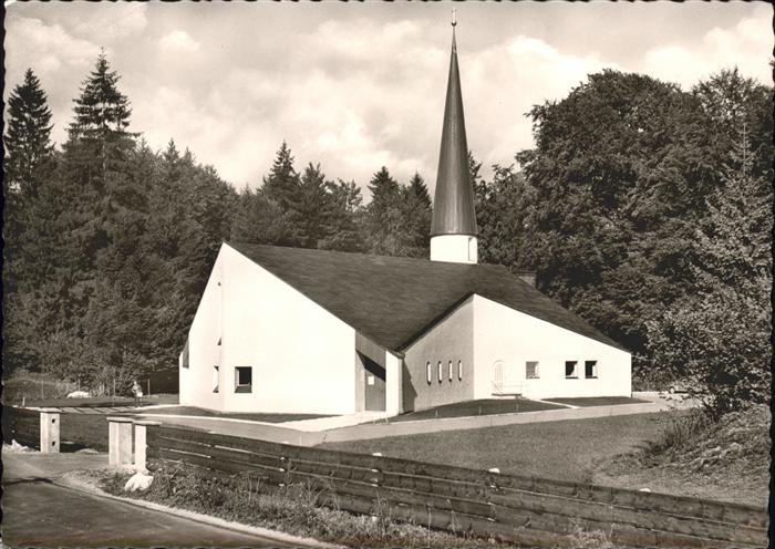 Grainau Evang.Kirche Kat. Grainau