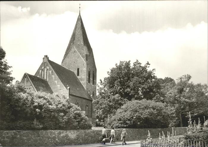 Rerik Ostseebad Ostseebad Kirche Kat. Ostseebad Rerik