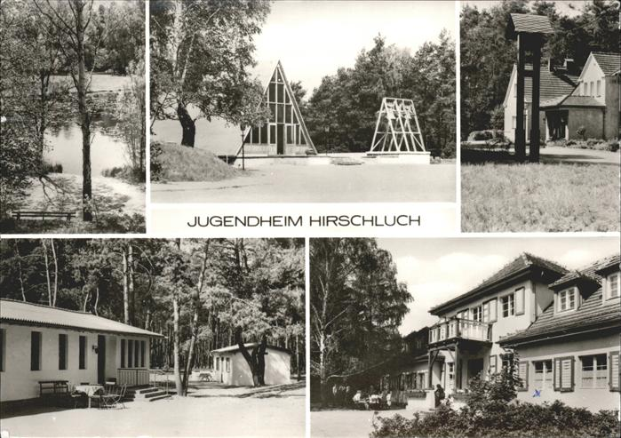 Storkow Mark Jugendheim Hirschluch Kat. Storkow Mark