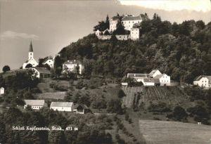 Kapfenstein Schloss Kat. Kapfenstein