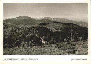 Koeflach Gaberlstrasse Koeflach Judenburg Kat. Koeflach