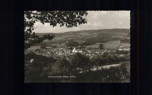 Poellau Sommerfrische Panorama Kat. Poellau Steiermark