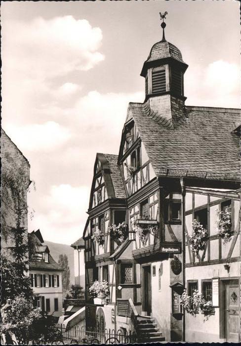 Assmannshausen Altes Haus / Ruedesheim am Rhein /