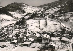 Wagrain Salzburg Panorama im Schnee Kat. Wagrain