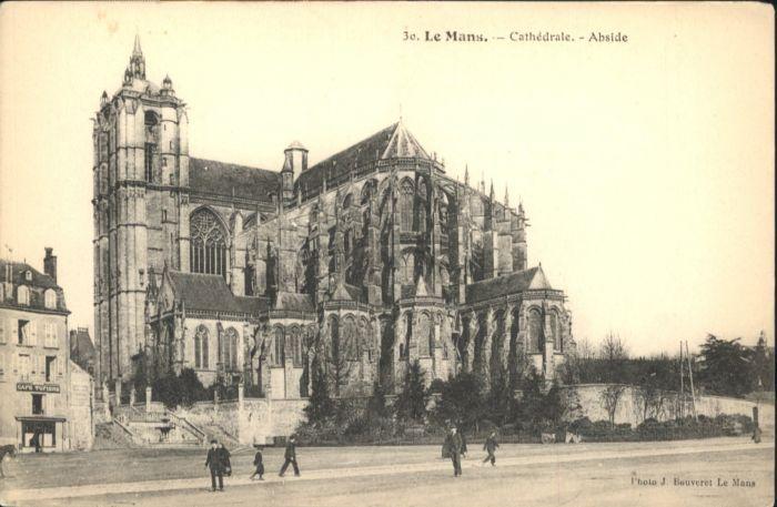 Le Mans Sarthe Le Mans Cathedrale  * / Le Mans /Arrond. du Mans