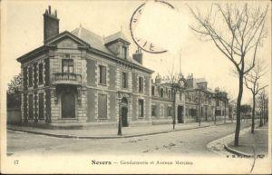 Nevers Nievre Nevers Gendarmerie Avenue Marceau x / Nevers /Arrond. de Nevers