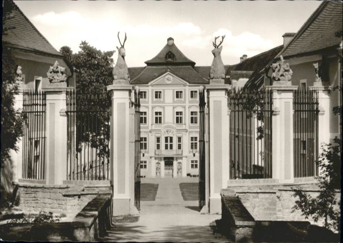 Hirschberg Bergstrasse Hirschberg Exerzitienhaus Schloss  * / Hirschberg an der Bergstrasse /Heidelberg Stadtkreis