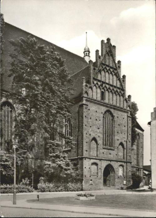 Bernau Berlin Bernau Marien Kirche  x / Bernau /Barnim LKR