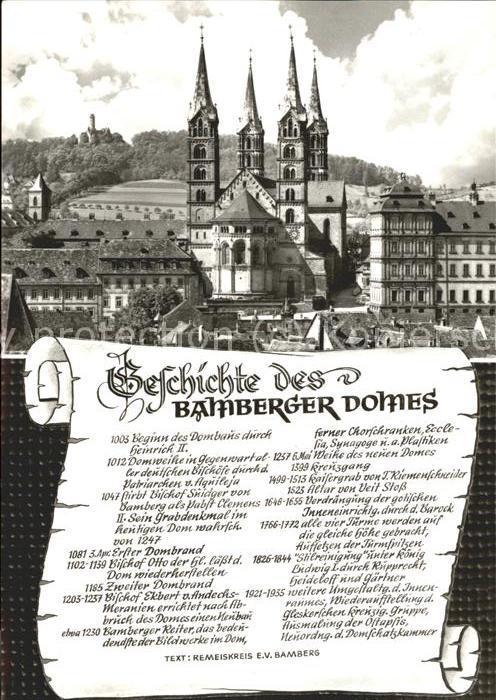Bamberg Gedichte des Doms Kat. Bamberg