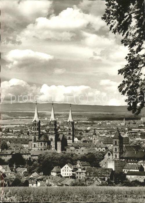 Bamberg Blick zum Dom Kat. Bamberg