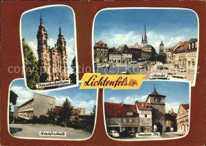 Lichtenfels Bayern Vierzehnheiligen Markt Berufsschule Unteres-Tor / Lichtenfels /Lichtenfels LKR