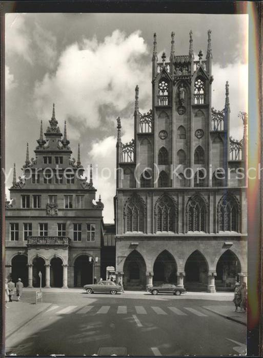 Muenster Westfalen Rathaus Stadtweinhaus Kat. Muenster