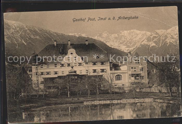 Imst Tirol an der Arlbergbahn Gasthof Post Kat. Imst