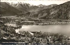 Tegernsee Kloster Rottach Egern und Blauberge Kat. Tegernsee