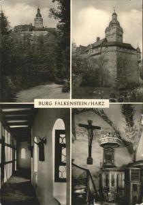 Falkenstein Harz Burg Falkenstein Kat. Falkenstein Harz