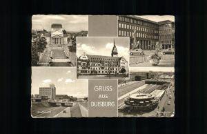 Duisburg Ruhr Stadttheater Handelskammer Hauptbahnhof Rathaus Nords?dachse / Duisburg /Duisburg Stadtkreis