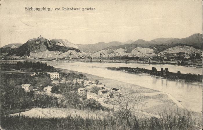 Remagen Rolandseck Panorama Kat. Remagen