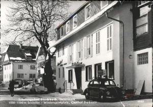 Fischbach Steiermark im Schnee Autos Kat. Fischbach