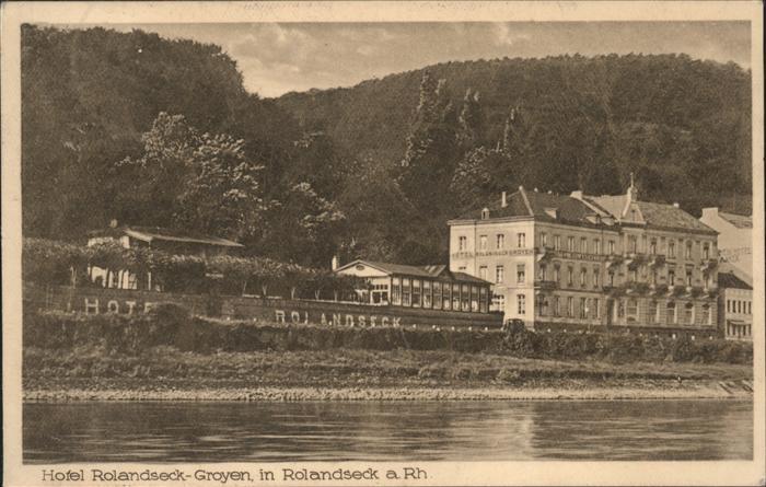 Rolandseck Hotel Rolandseck Groyen Kat. Remagen
