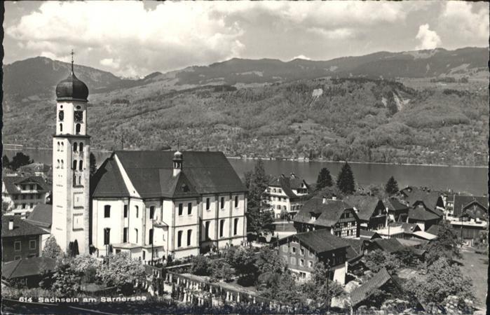 wb20687 Sachseln OW Sarner See Kategorie. Sachseln Alte Ansichtskarten