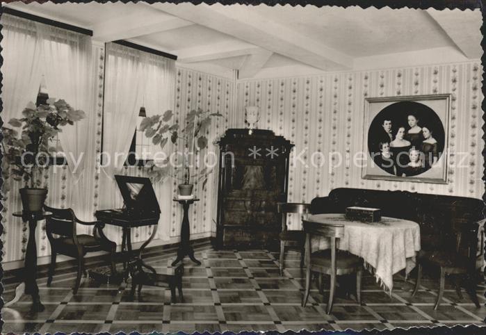 Detmold Lippisches Landesmuseum Biedermeier Zimmer Kat. Detmold