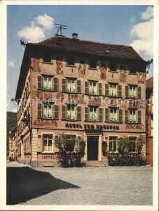 Eberbach Baden Hotel Restaurant Karpfen / Eberbach /Heidelberg Stadtkreis