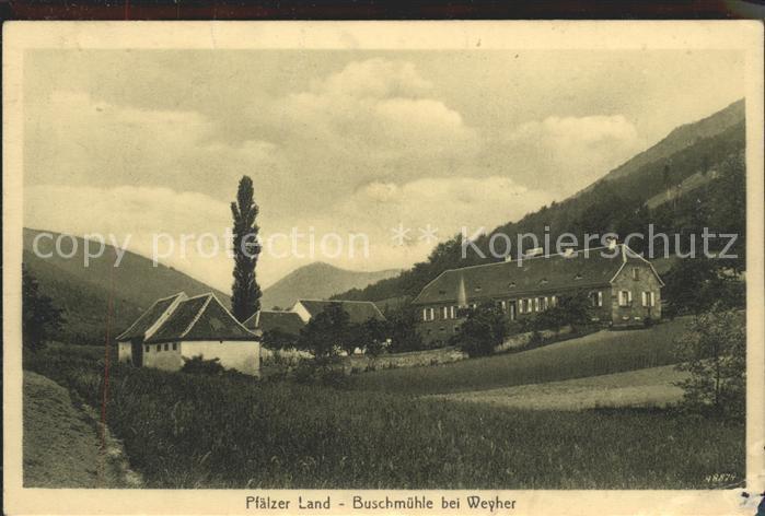 Landau Pfalz Buschmuehle Weyher / Landau in der Pfalz /Landau Pfalz Stadtkreis