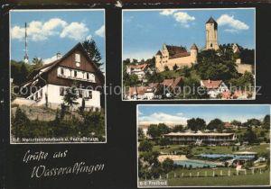 Wasseralfingen Freibad Fernsehturm Jugendherberge / Aalen /Ostalbkreis LKR