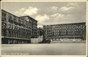 Essen Ruhr Partie am Burgplatz Kat. Essen
